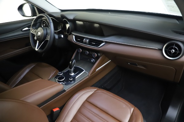 Used 2019 Alfa Romeo Stelvio Ti Lusso for sale Call for price at Rolls-Royce Motor Cars Greenwich in Greenwich CT 06830 24