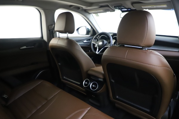Used 2019 Alfa Romeo Stelvio Ti Lusso for sale Call for price at Rolls-Royce Motor Cars Greenwich in Greenwich CT 06830 28