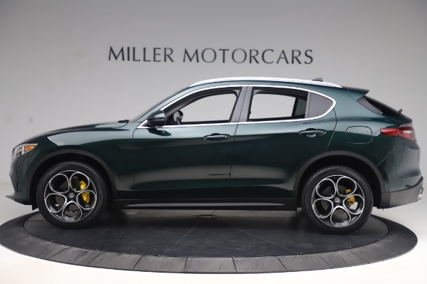 Used 2019 Alfa Romeo Stelvio Ti Lusso for sale Call for price at Rolls-Royce Motor Cars Greenwich in Greenwich CT 06830 3