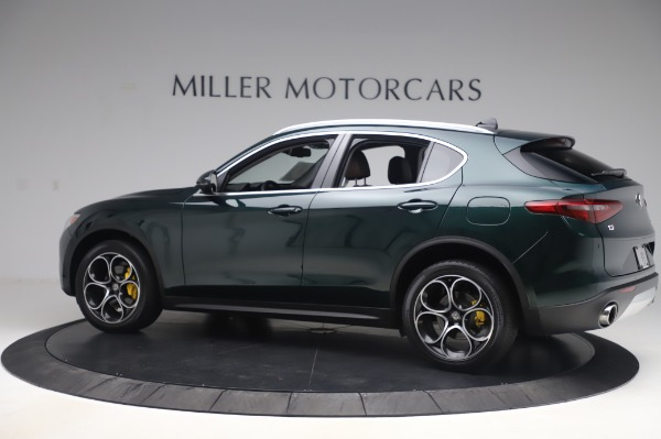 Used 2019 Alfa Romeo Stelvio Ti Lusso for sale Call for price at Rolls-Royce Motor Cars Greenwich in Greenwich CT 06830 4