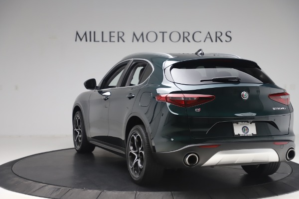Used 2019 Alfa Romeo Stelvio Ti Lusso for sale Call for price at Rolls-Royce Motor Cars Greenwich in Greenwich CT 06830 5