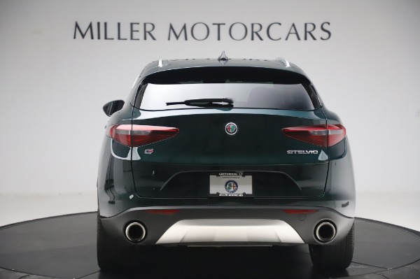 Used 2019 Alfa Romeo Stelvio Ti Lusso for sale Call for price at Rolls-Royce Motor Cars Greenwich in Greenwich CT 06830 6