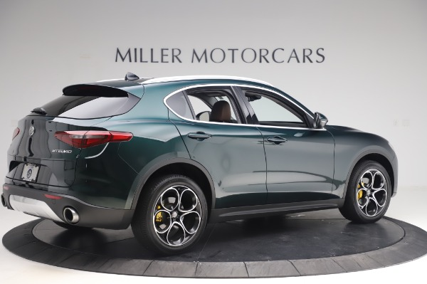 Used 2019 Alfa Romeo Stelvio Ti Lusso for sale Call for price at Rolls-Royce Motor Cars Greenwich in Greenwich CT 06830 7