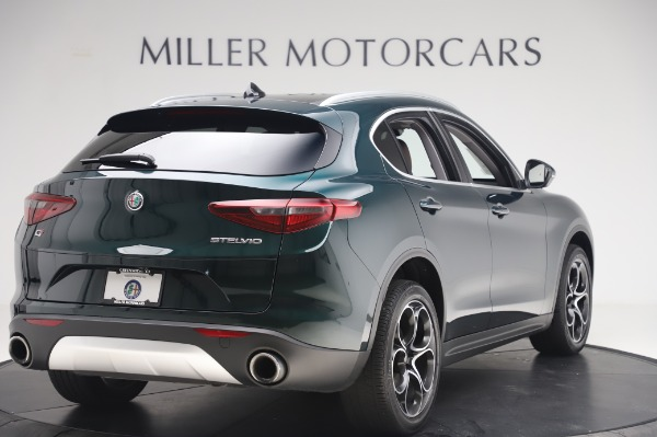 Used 2019 Alfa Romeo Stelvio Ti Lusso for sale Call for price at Rolls-Royce Motor Cars Greenwich in Greenwich CT 06830 8