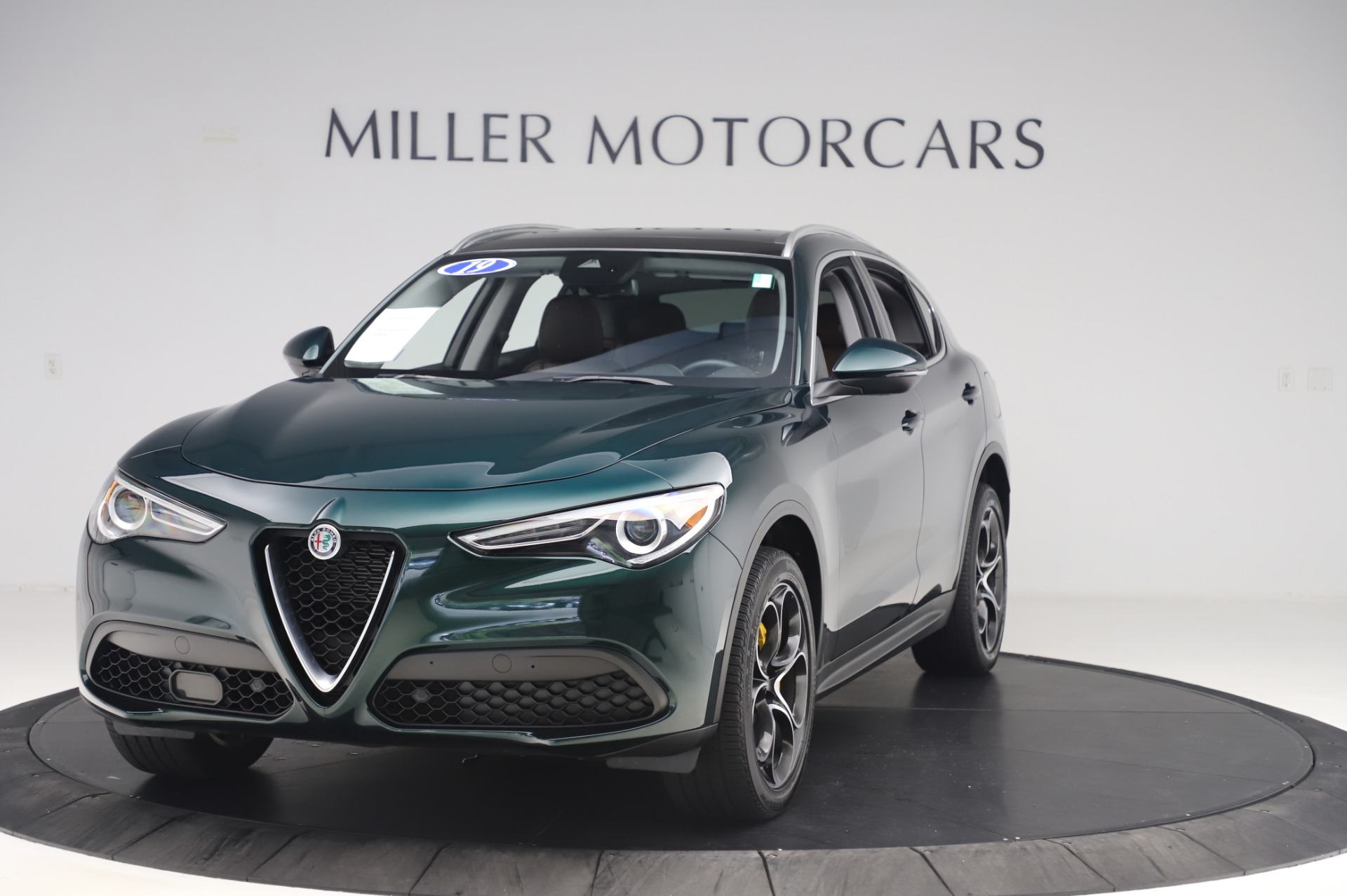 Used 2019 Alfa Romeo Stelvio Ti Lusso for sale Call for price at Rolls-Royce Motor Cars Greenwich in Greenwich CT 06830 1