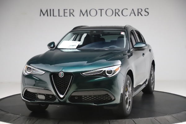 New 2020 Alfa Romeo Stelvio Sport Q4 for sale $49,995 at Rolls-Royce Motor Cars Greenwich in Greenwich CT 06830 1