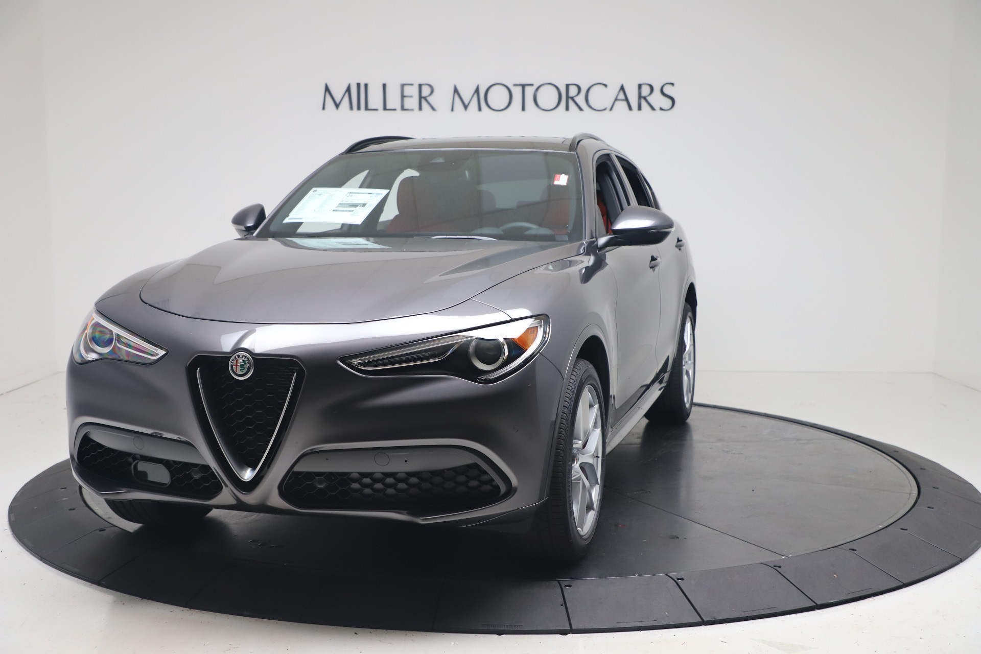 New 2020 Alfa Romeo Stelvio Ti Sport Q4 for sale $53,545 at Rolls-Royce Motor Cars Greenwich in Greenwich CT 06830 1