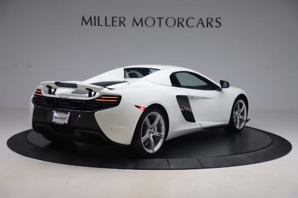 Used 2016 McLaren 650S Spider for sale $152,900 at Rolls-Royce Motor Cars Greenwich in Greenwich CT 06830 14