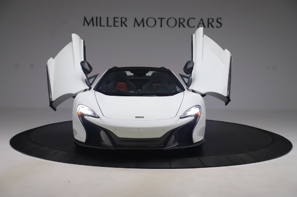 Used 2016 McLaren 650S Spider for sale $152,900 at Rolls-Royce Motor Cars Greenwich in Greenwich CT 06830 17