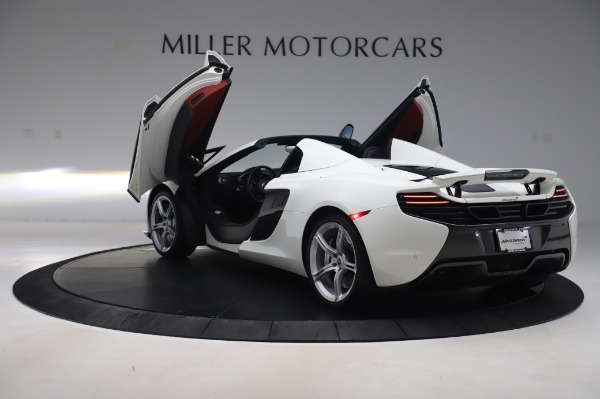 Used 2016 McLaren 650S Spider for sale $152,900 at Rolls-Royce Motor Cars Greenwich in Greenwich CT 06830 18