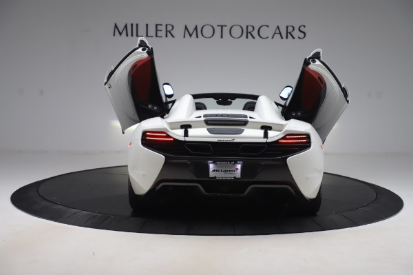 Used 2016 McLaren 650S Spider for sale $152,900 at Rolls-Royce Motor Cars Greenwich in Greenwich CT 06830 19
