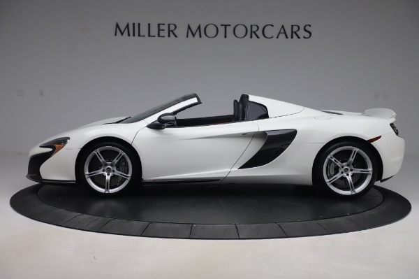 Used 2016 McLaren 650S Spider for sale $152,900 at Rolls-Royce Motor Cars Greenwich in Greenwich CT 06830 2