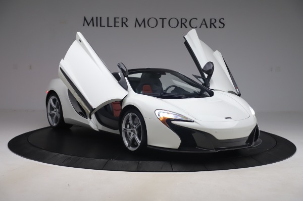 Used 2016 McLaren 650S Spider for sale $152,900 at Rolls-Royce Motor Cars Greenwich in Greenwich CT 06830 21