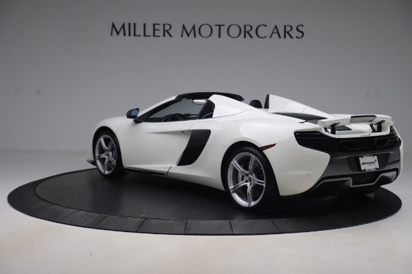 Used 2016 McLaren 650S Spider for sale $152,900 at Rolls-Royce Motor Cars Greenwich in Greenwich CT 06830 3
