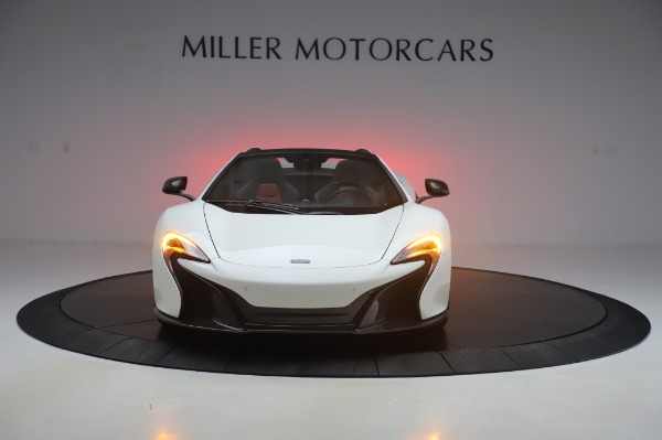Used 2016 McLaren 650S Spider for sale $152,900 at Rolls-Royce Motor Cars Greenwich in Greenwich CT 06830 8