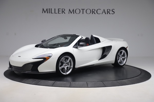 Used 2016 McLaren 650S Spider for sale $152,900 at Rolls-Royce Motor Cars Greenwich in Greenwich CT 06830 1