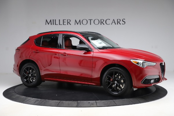 New 2020 Alfa Romeo Stelvio Sport Q4 for sale $50,195 at Rolls-Royce Motor Cars Greenwich in Greenwich CT 06830 10