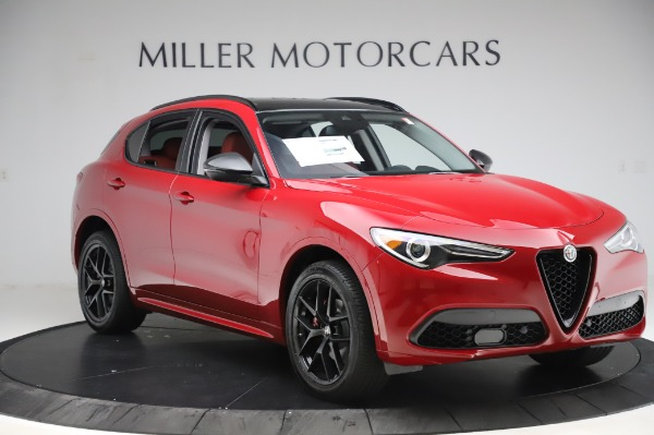 New 2020 Alfa Romeo Stelvio Sport Q4 for sale $50,195 at Rolls-Royce Motor Cars Greenwich in Greenwich CT 06830 11