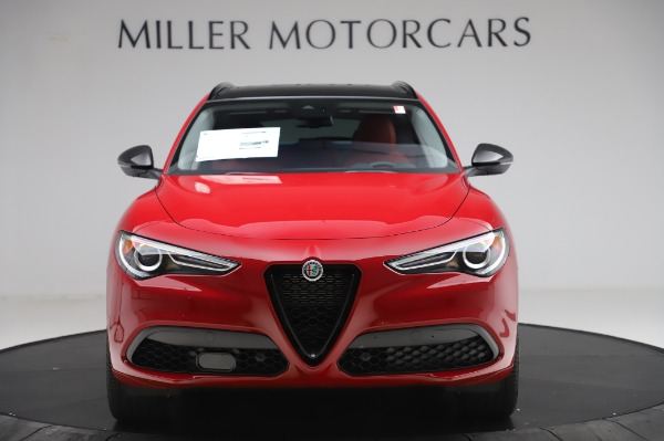 New 2020 Alfa Romeo Stelvio Sport Q4 for sale $50,195 at Rolls-Royce Motor Cars Greenwich in Greenwich CT 06830 12
