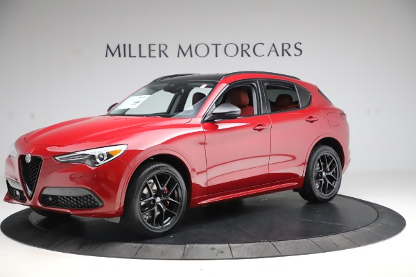 New 2020 Alfa Romeo Stelvio Sport Q4 for sale $50,195 at Rolls-Royce Motor Cars Greenwich in Greenwich CT 06830 2