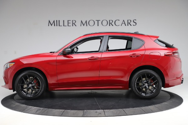 New 2020 Alfa Romeo Stelvio Sport Q4 for sale $50,195 at Rolls-Royce Motor Cars Greenwich in Greenwich CT 06830 3