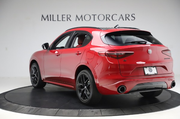 New 2020 Alfa Romeo Stelvio Sport Q4 for sale $50,195 at Rolls-Royce Motor Cars Greenwich in Greenwich CT 06830 5