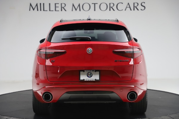 New 2020 Alfa Romeo Stelvio Sport Q4 for sale $50,195 at Rolls-Royce Motor Cars Greenwich in Greenwich CT 06830 6