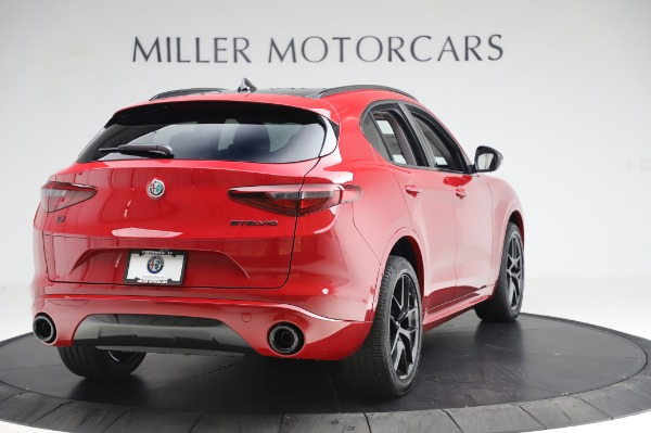 New 2020 Alfa Romeo Stelvio Sport Q4 for sale $50,195 at Rolls-Royce Motor Cars Greenwich in Greenwich CT 06830 7
