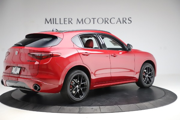 New 2020 Alfa Romeo Stelvio Sport Q4 for sale $50,195 at Rolls-Royce Motor Cars Greenwich in Greenwich CT 06830 8
