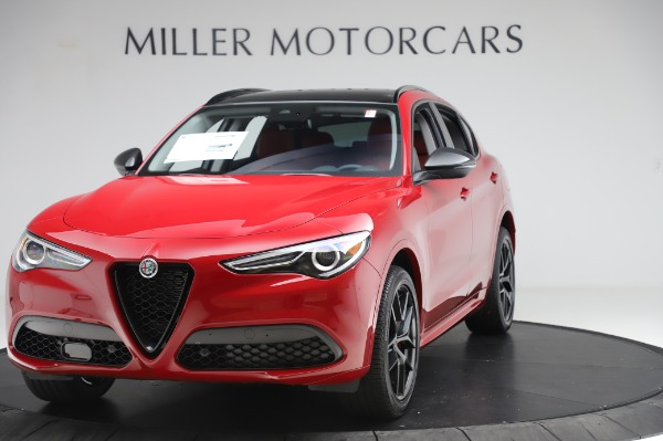 New 2020 Alfa Romeo Stelvio Sport Q4 for sale $50,195 at Rolls-Royce Motor Cars Greenwich in Greenwich CT 06830 1