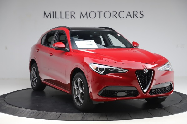 New 2020 Alfa Romeo Stelvio Sport Q4 for sale $50,645 at Rolls-Royce Motor Cars Greenwich in Greenwich CT 06830 11