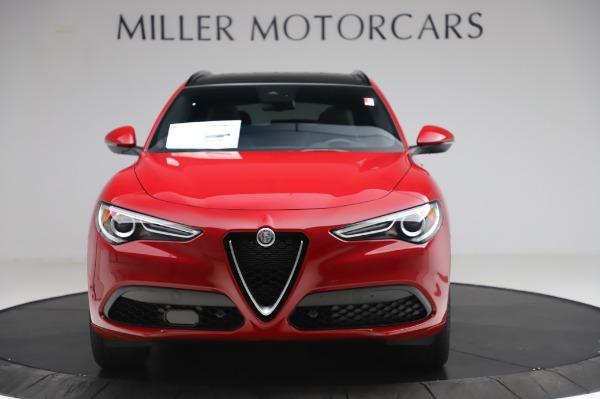 New 2020 Alfa Romeo Stelvio Sport Q4 for sale $50,645 at Rolls-Royce Motor Cars Greenwich in Greenwich CT 06830 12