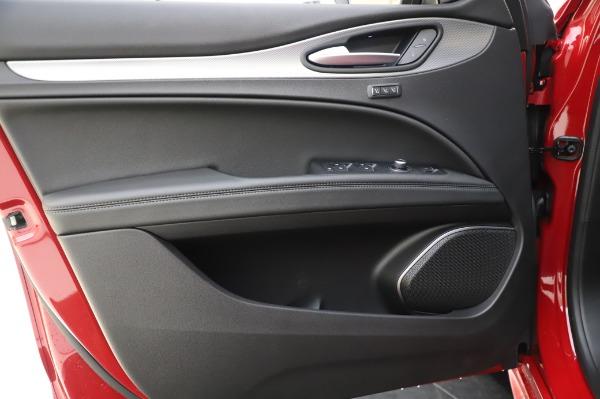 New 2020 Alfa Romeo Stelvio Sport Q4 for sale $50,645 at Rolls-Royce Motor Cars Greenwich in Greenwich CT 06830 17
