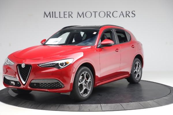 New 2020 Alfa Romeo Stelvio Sport Q4 for sale $50,645 at Rolls-Royce Motor Cars Greenwich in Greenwich CT 06830 2