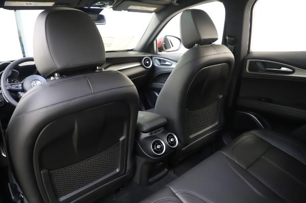 New 2020 Alfa Romeo Stelvio Sport Q4 for sale $50,645 at Rolls-Royce Motor Cars Greenwich in Greenwich CT 06830 20