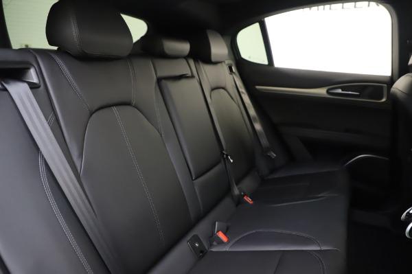 New 2020 Alfa Romeo Stelvio Sport Q4 for sale $50,645 at Rolls-Royce Motor Cars Greenwich in Greenwich CT 06830 25