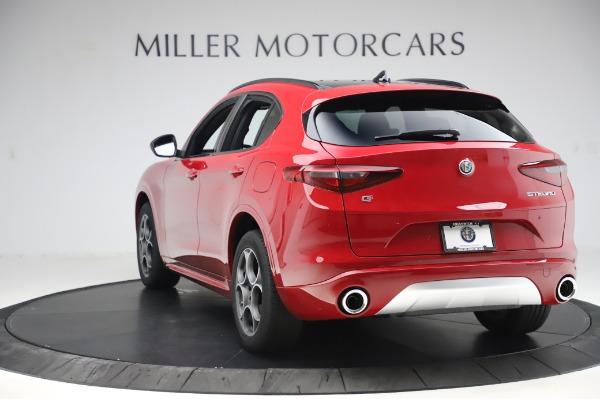 New 2020 Alfa Romeo Stelvio Sport Q4 for sale $50,645 at Rolls-Royce Motor Cars Greenwich in Greenwich CT 06830 5