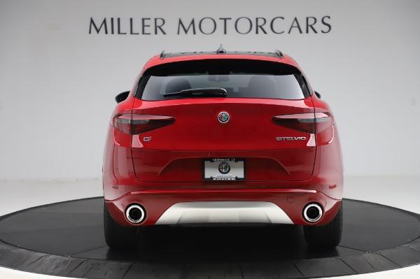 New 2020 Alfa Romeo Stelvio Sport Q4 for sale $50,645 at Rolls-Royce Motor Cars Greenwich in Greenwich CT 06830 6
