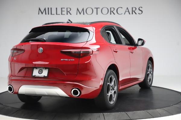 New 2020 Alfa Romeo Stelvio Sport Q4 for sale $50,645 at Rolls-Royce Motor Cars Greenwich in Greenwich CT 06830 7