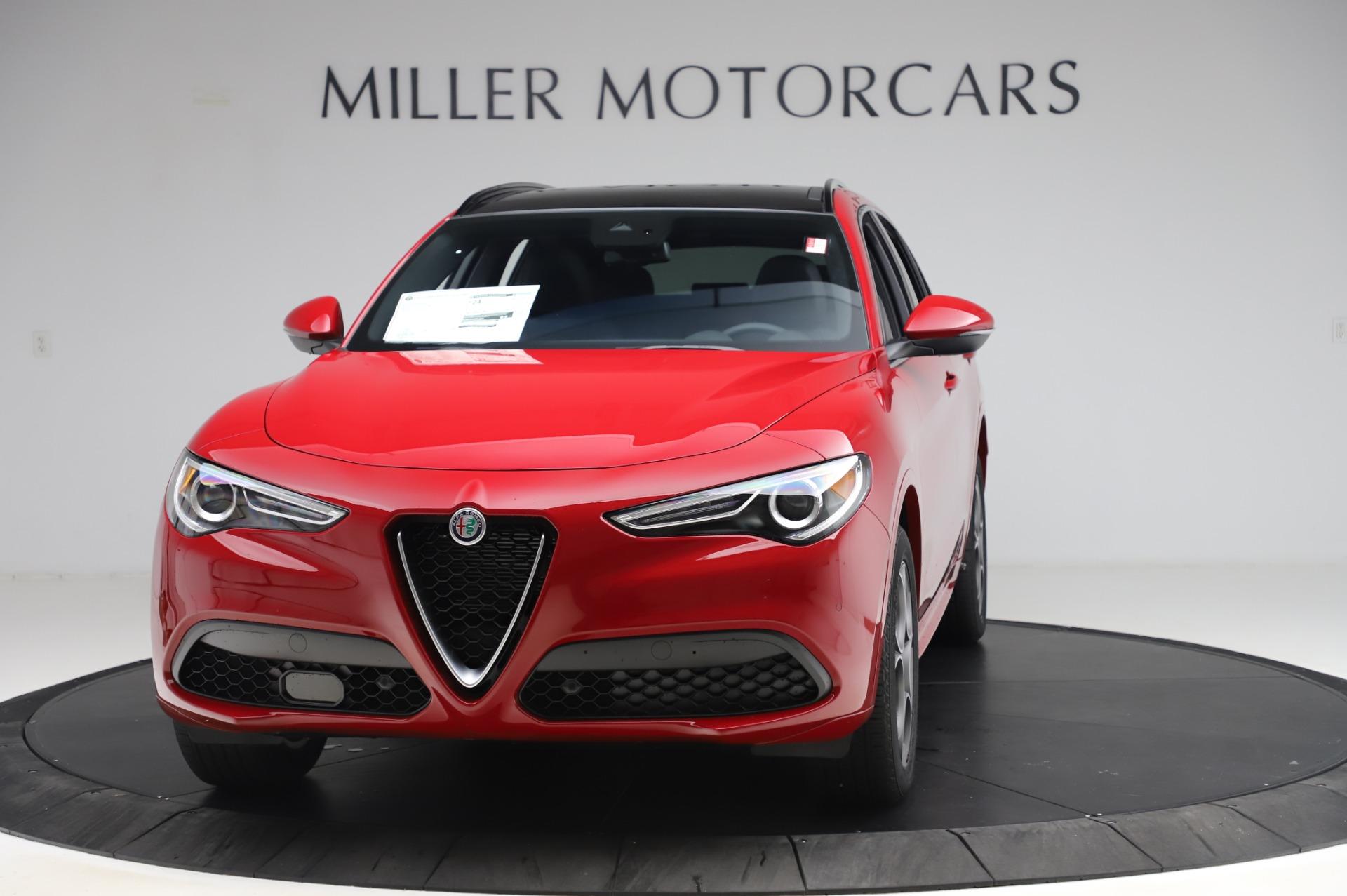 New 2020 Alfa Romeo Stelvio Sport Q4 for sale $50,645 at Rolls-Royce Motor Cars Greenwich in Greenwich CT 06830 1