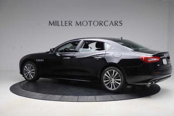 New 2020 Maserati Quattroporte S Q4 for sale $110,999 at Rolls-Royce Motor Cars Greenwich in Greenwich CT 06830 4
