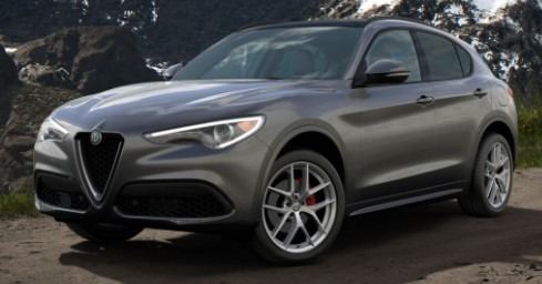 New 2020 Alfa Romeo Stelvio Ti Sport Q4 for sale $55,645 at Rolls-Royce Motor Cars Greenwich in Greenwich CT 06830 1