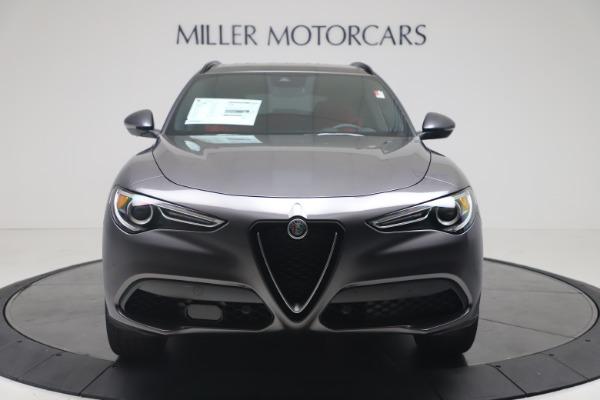 New 2020 Alfa Romeo Stelvio Ti Sport Q4 for sale $56,145 at Rolls-Royce Motor Cars Greenwich in Greenwich CT 06830 12