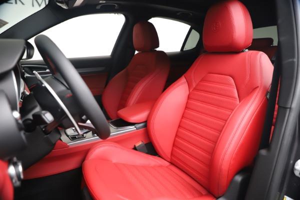 New 2020 Alfa Romeo Stelvio Ti Sport Q4 for sale Sold at Rolls-Royce Motor Cars Greenwich in Greenwich CT 06830 15
