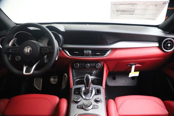 New 2020 Alfa Romeo Stelvio Ti Sport Q4 for sale $56,145 at Rolls-Royce Motor Cars Greenwich in Greenwich CT 06830 16