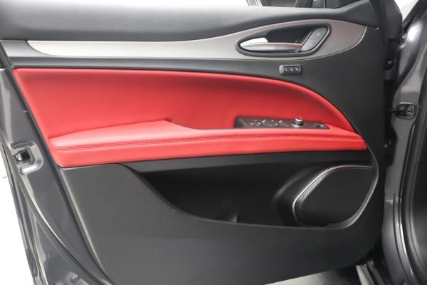 New 2020 Alfa Romeo Stelvio Ti Sport Q4 for sale $56,145 at Rolls-Royce Motor Cars Greenwich in Greenwich CT 06830 17