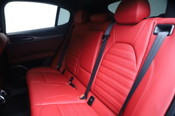 New 2020 Alfa Romeo Stelvio Ti Sport Q4 for sale $56,145 at Rolls-Royce Motor Cars Greenwich in Greenwich CT 06830 18
