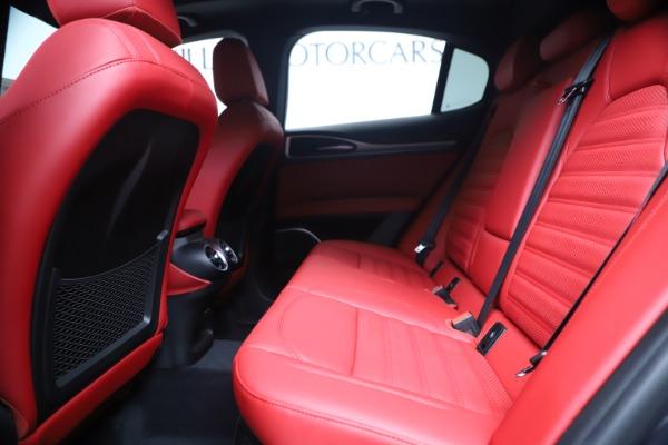 New 2020 Alfa Romeo Stelvio Ti Sport Q4 for sale $56,145 at Rolls-Royce Motor Cars Greenwich in Greenwich CT 06830 19
