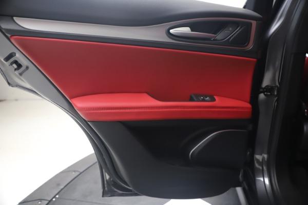 New 2020 Alfa Romeo Stelvio Ti Sport Q4 for sale Sold at Rolls-Royce Motor Cars Greenwich in Greenwich CT 06830 21