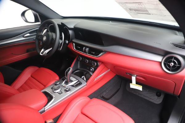 New 2020 Alfa Romeo Stelvio Ti Sport Q4 for sale Sold at Rolls-Royce Motor Cars Greenwich in Greenwich CT 06830 24